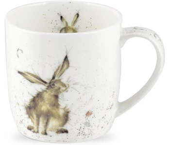 WRENDALE Good Hare Day mug.