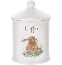 Royal Selangor Portmeirion WRENDALE COFFEE CANISTER HARE 5.75""