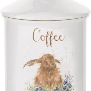"""Wrendale WRENDALE COFFEE CANISTER HARE 5.75"""""""