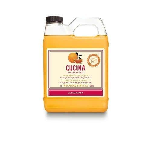 FRUIT & PASSION Cucina REFILL HAND SOAP SANGUINELLI ORANGE & FENNEL