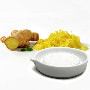 BIA Ginger / Garlic grater WHITE round