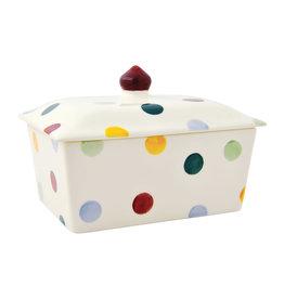 JL Bradshaw EMMA Polka dot small butter dish