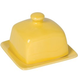 Danica BUTTER DISH SQ. LEMON