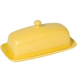 Danica Butter Dish Rectangular LEMON