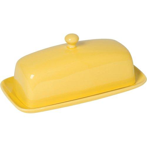 Danica Butter Dish Rectangular LEMON