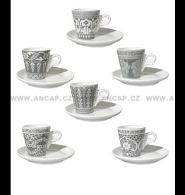 ROCCHITELLI PROFUMO D'ORIENTE Espresso Set of 6 cups/saucers