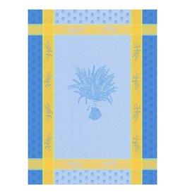 42FDistribution TEA TOWEL Montolivet LAVENDER BLUE(soft cotton)