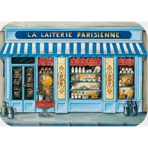 42FDistribution Placemat La Laiterie Parisienne Wipeable