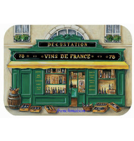42FDistribution Placemat Boutique Vins de France Wipeable