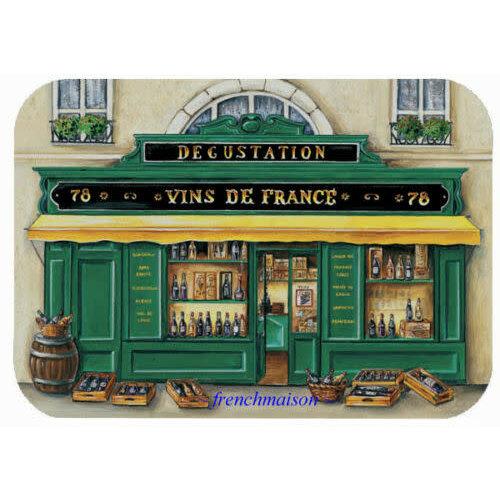 42FDistribution Placemat Boutique Vins de France Wipeable