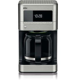 Braun BRAUN 12-CUP DIGITAL COFFEE MAKER STAINLESS STEEL