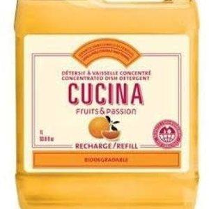 FRUIT & PASSION Cucina REFILL DISH DETERGENT CONCENTRATED SANGUINELLI ORANGE & FENNEL