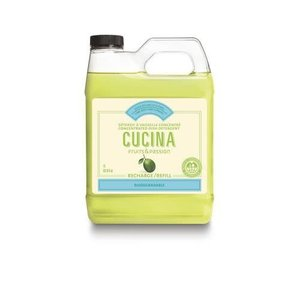 FRUIT & PASSION Cucina REFILL DISH DETERGENT CONCENTRATED LIME ZEST & CYPRESS