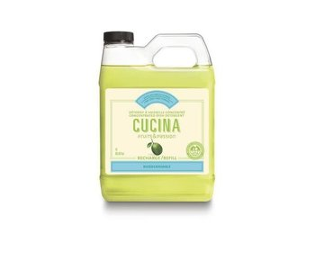 Cucina REFILL DISH DETERGENT CONCENTRATED LIME ZEST & CYPRESS