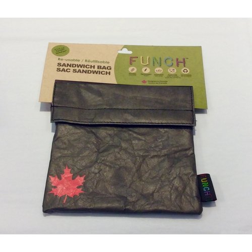 Funch Sandwich bag black FUNCH