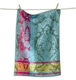 Design Home TEA TOWEL EDEN JACQUARD MULTI