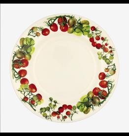 "JL Bradshaw EMMA Veg Garden Tomatoes 10.5"" Plate"