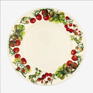 "Emma Bridgewater EMMA Veg Garden Tomatoes 10.5"" Plate"