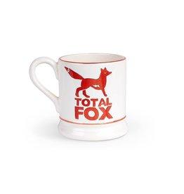 JL Bradshaw EMMA Total Fox Total Fox 1/2 pint mug