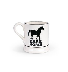 JL Bradshaw EMMA Total Fox Dark horse 1/2 pint mug