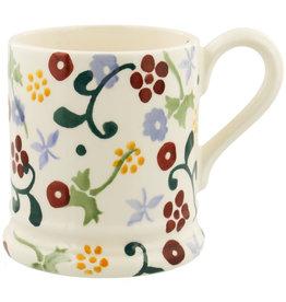 JL Bradshaw EMMA Spring Floral 1/2 pint mug