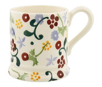 EMMA Spring Floral 1/2 pint mug
