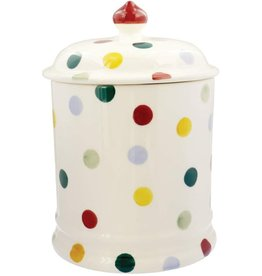 JL Bradshaw EMMA Polka dot 2 pint storage jar NEW