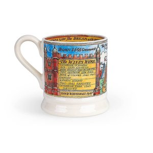 Emma Bridgewater EMMA HENRY VIII 1/2 Pint Mug