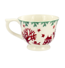 JL Bradshaw EMMA Christmas joy tiny teacup