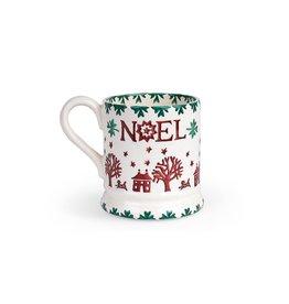 JL Bradshaw EMMA Christmas joy Noel 1/2 pint mug
