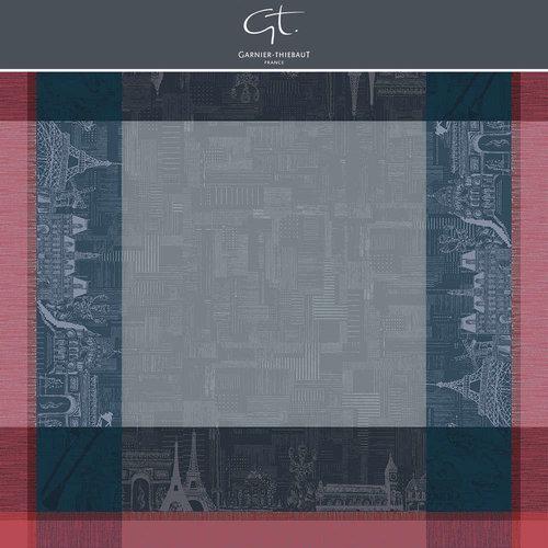 """Garnier Thiebaut Tablecloth Parisien Ardoise 45""""x45"""""""