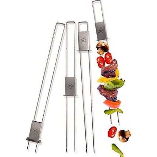 BBQ Devil Skewers set/6 STAINLESS STEEL BBQ devil