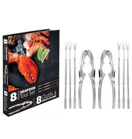 Danesco Seafood Tool Set 8 pcs GIFT BOXED