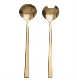 Danesco SALAD SERVERS GOLD