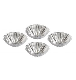 Harold Import Company TARTLET PAN  Fluted Dome 2-3/4""
