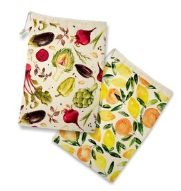 Danesco Fruit & Veg Storage Bag S/2