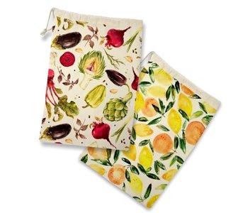 Fruit & Veg Storage Bag S/2