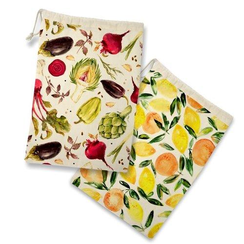 Danesco Fruit & Veg Storage Bag S/2
