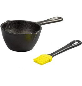 Lodge LODGE Sauce pan with silicong basting brush