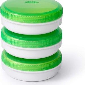 OXO OXO On The Go set of 3 No-Leak Condiment Jars