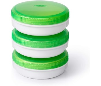 OXO On The Go set of 3 No-Leak Condiment Jars