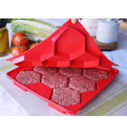 Smart Cookie Home Essentials Burger Master - Shape & Store