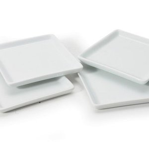 B.I.A. Plate Square Appetizer BIA