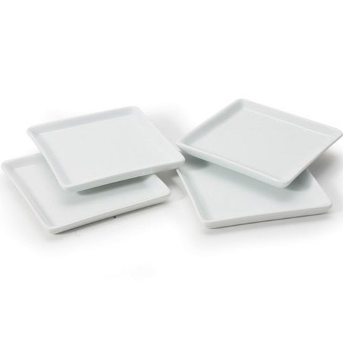 BIA Plate Square Appetizer BIA 11.5cm
