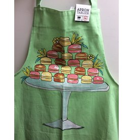 Danica Apron Patterned  Macaroons