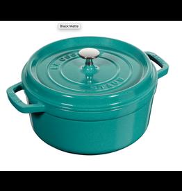 Henckel Dutch Oven Round 4 QT STAUB Turquoise