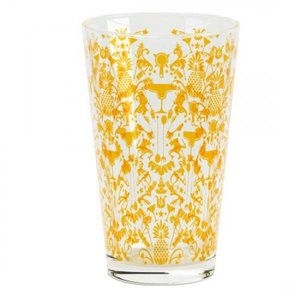HOSPITALITY CONSUMER PRODUCTS Gold Patterned Glass 16oz.