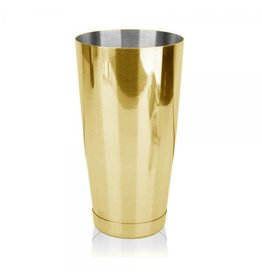 HOSPITALITY CONSUMER PRODUCTS COCKTAIL BOSTON WEIGHTED 28oz - GOLD