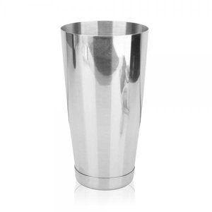 HOSPITALITY CONSUMER PRODUCTS COCKTAIL BOSTON WEIGHTED 28oz Stainless Steel with Glass Patterned Shaker