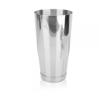COCKTAIL BOSTON WEIGHTED 28oz Stainless Steel with Glass Patterned Shaker